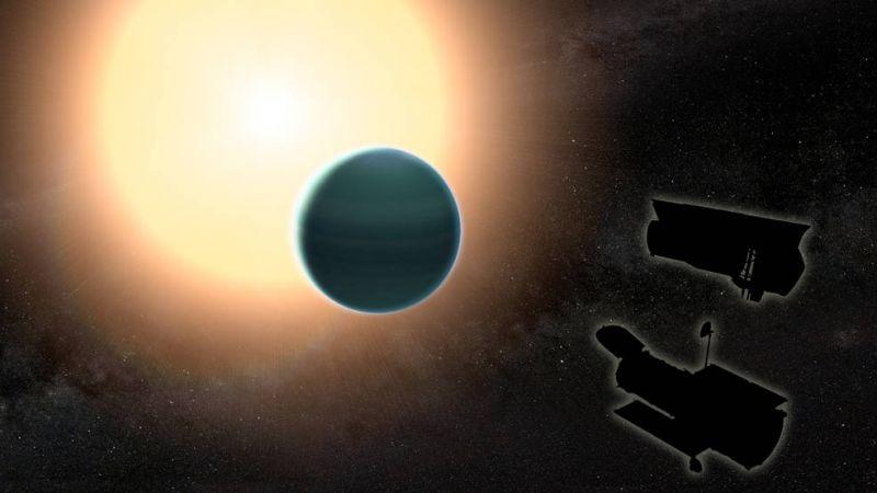 Астрономы обнаружили следы водяных паров ватмосфере «теплого Нептуна