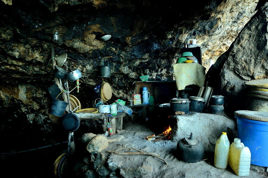 Пещерная кухня