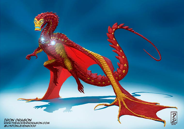 Iron Man Dragon