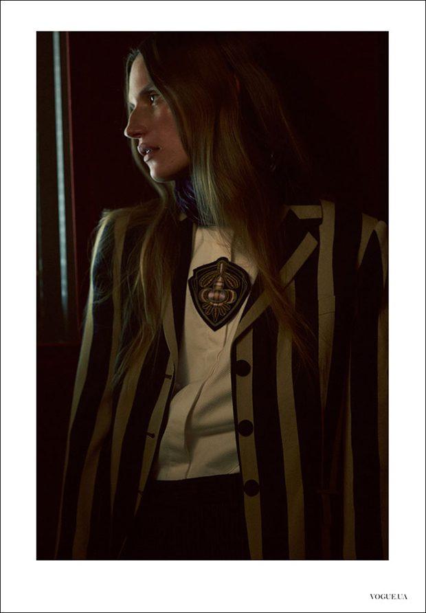 Cate Underwood by Ben Morris for Vogue Ukraine