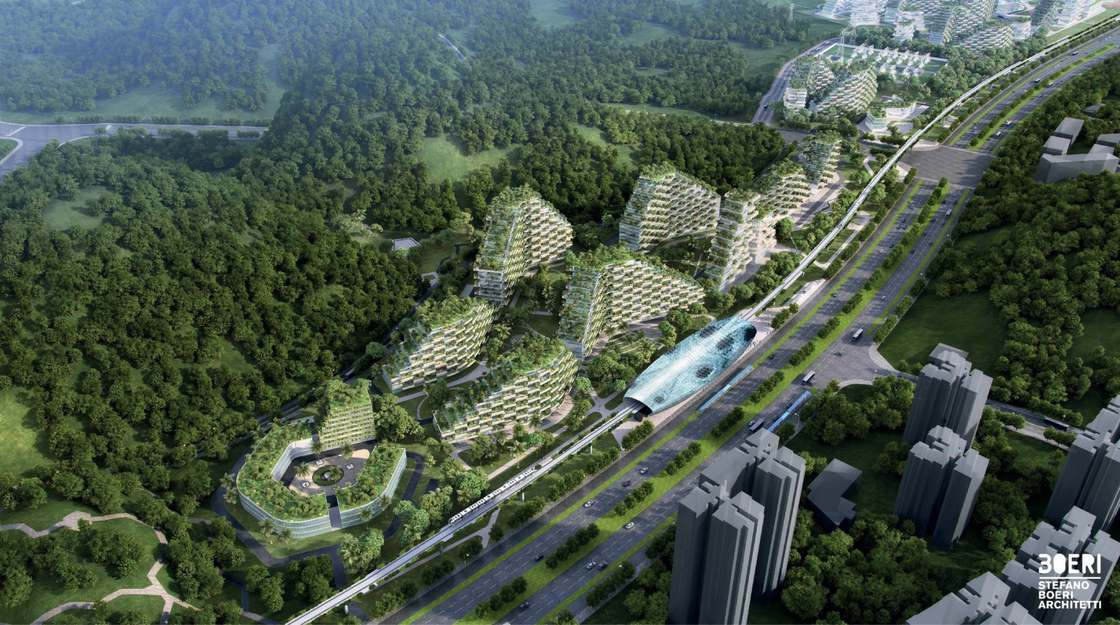 Forest City - A green city with more than 1 million trees and plants