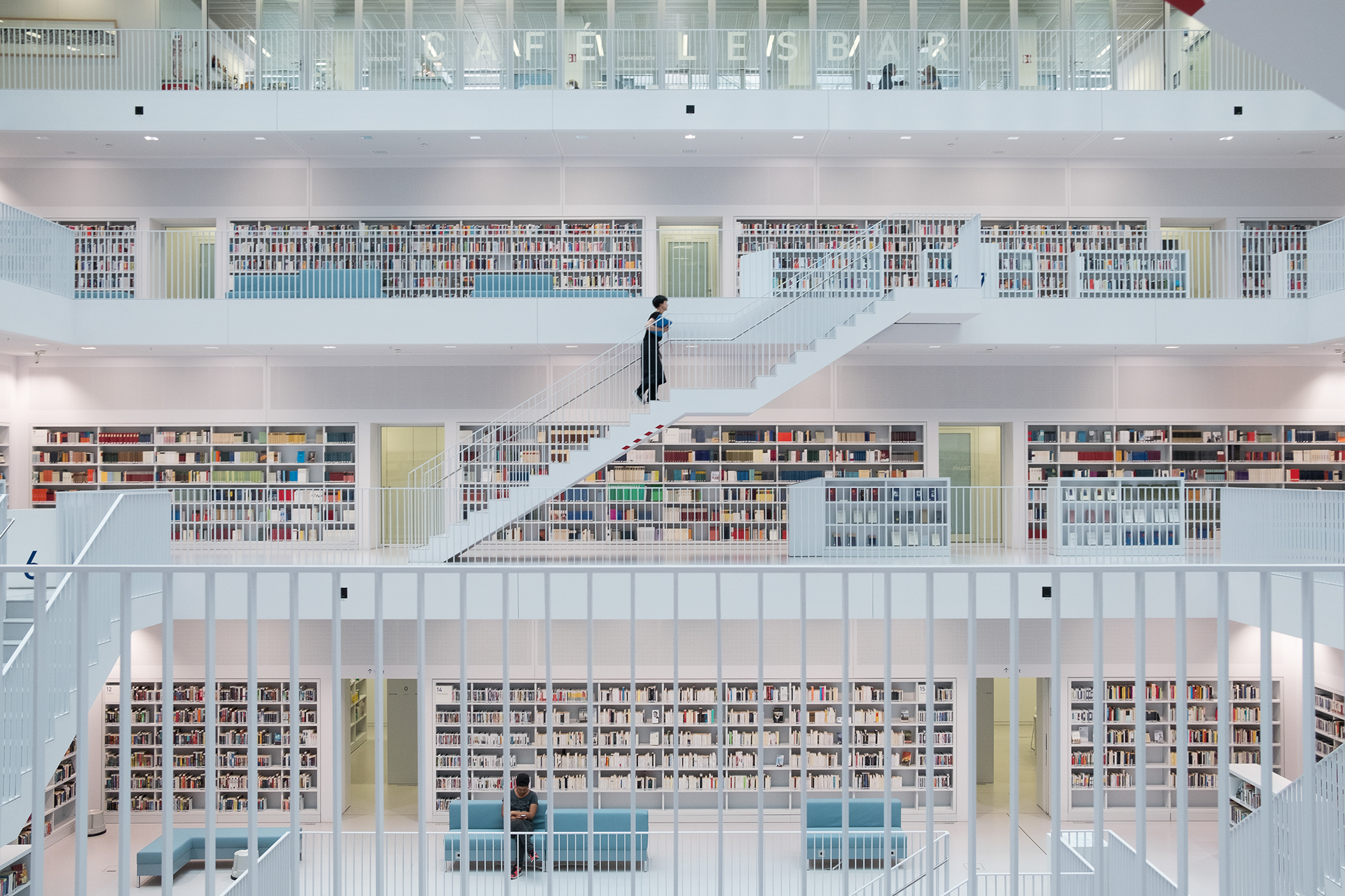 Peaceful Library in Stuttgart by Skander Khlif (7 pics)