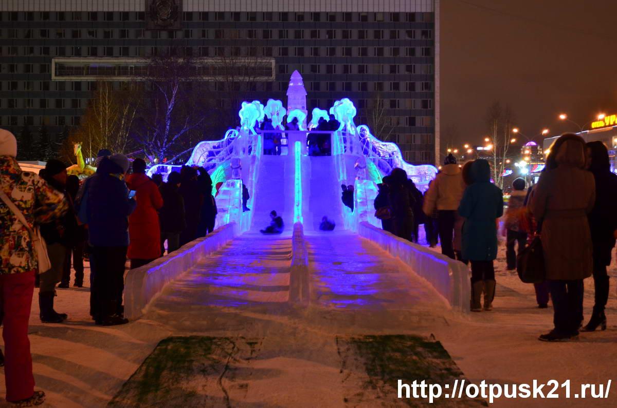 Ледовый городок Пермь 2017