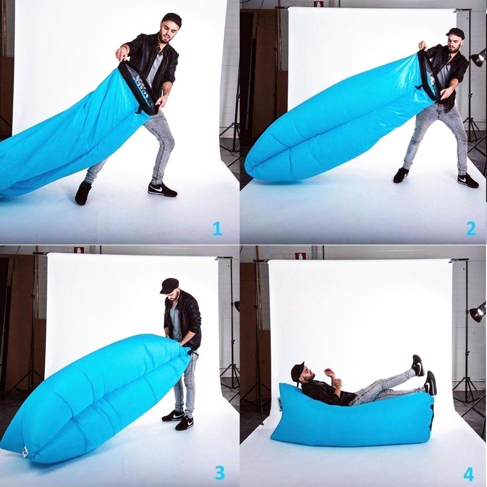 Надувной лежак Ламзак