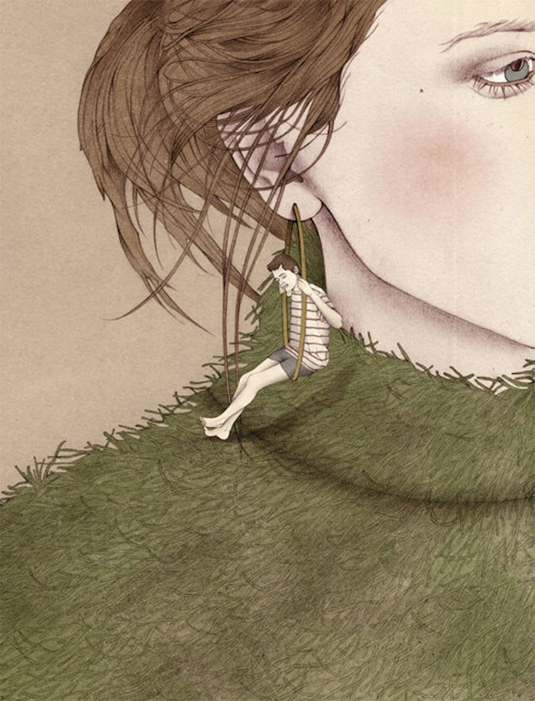 Surreal Graphic Illustrations by Nader Sharaf