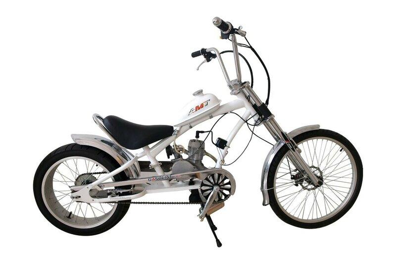 Велосипед с мотором – CHOPPER-BIKE ST-22