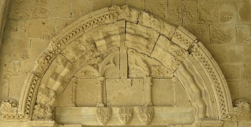 Беллапаис. Декоративная арка над входом в трапезную
