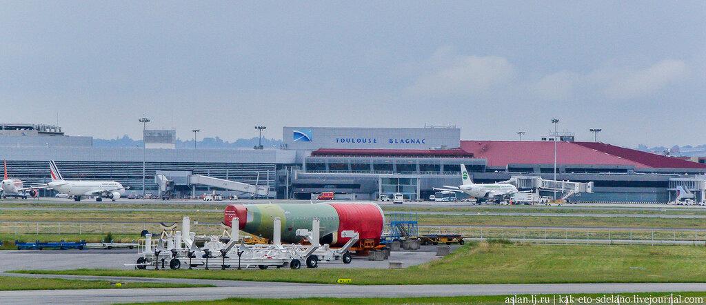 Как собирают самолеты Airbus