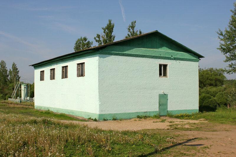 Путейский домик на станции Сычёвка