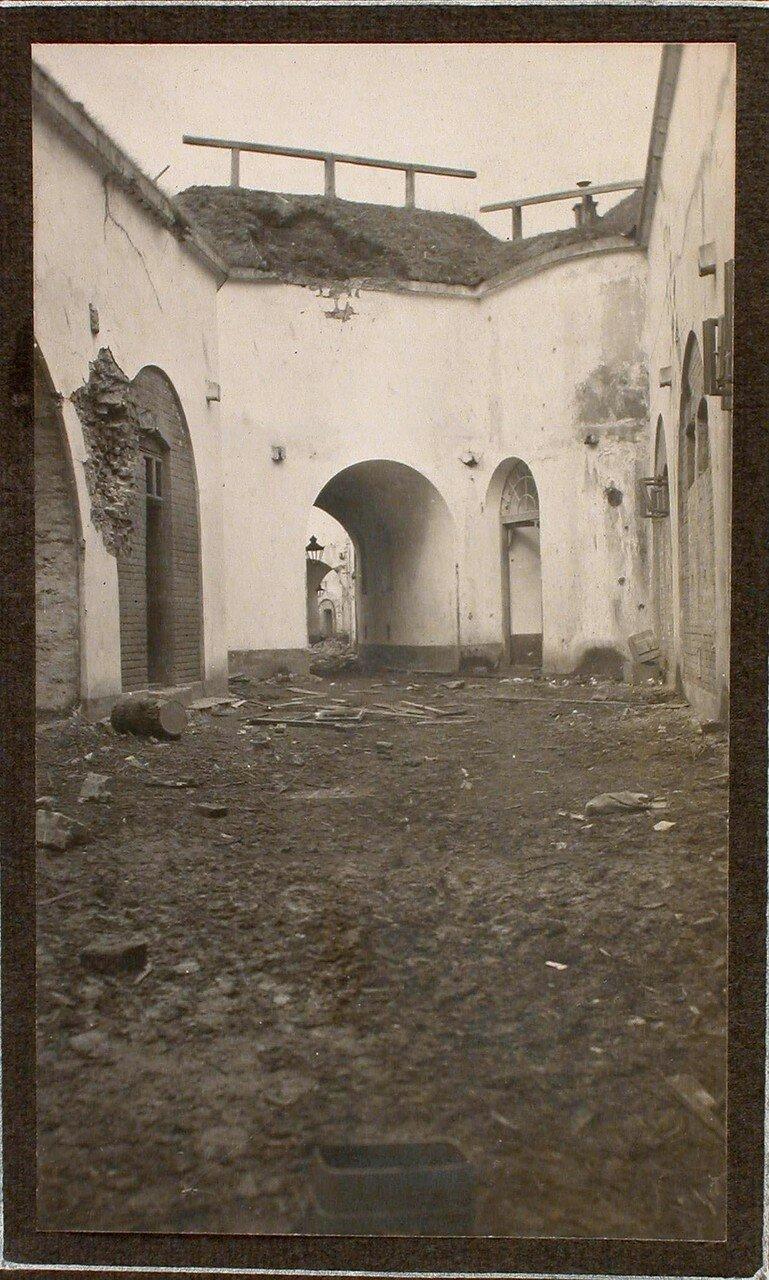 29. Вид разрушенной части форта № 1 группы Седласка