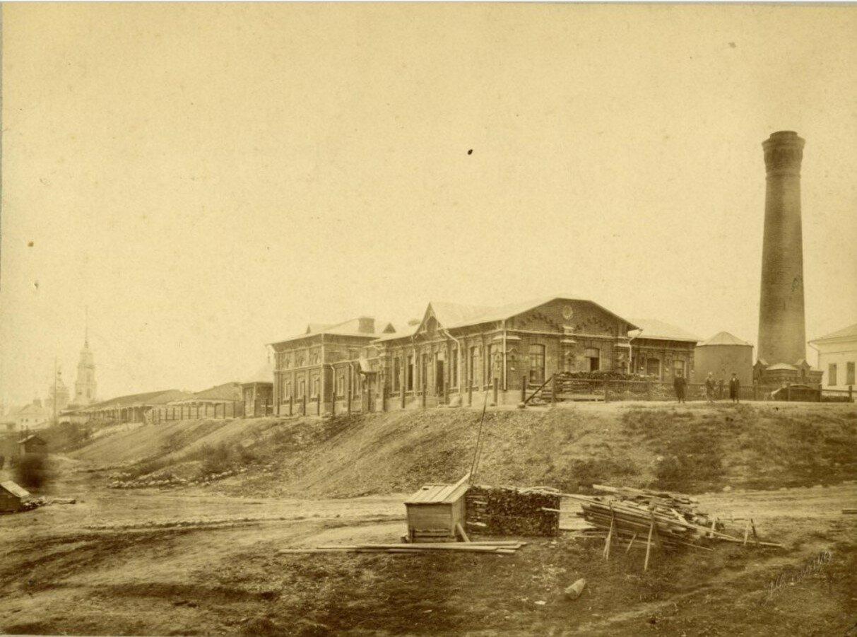 Здание электроводопроводной станции