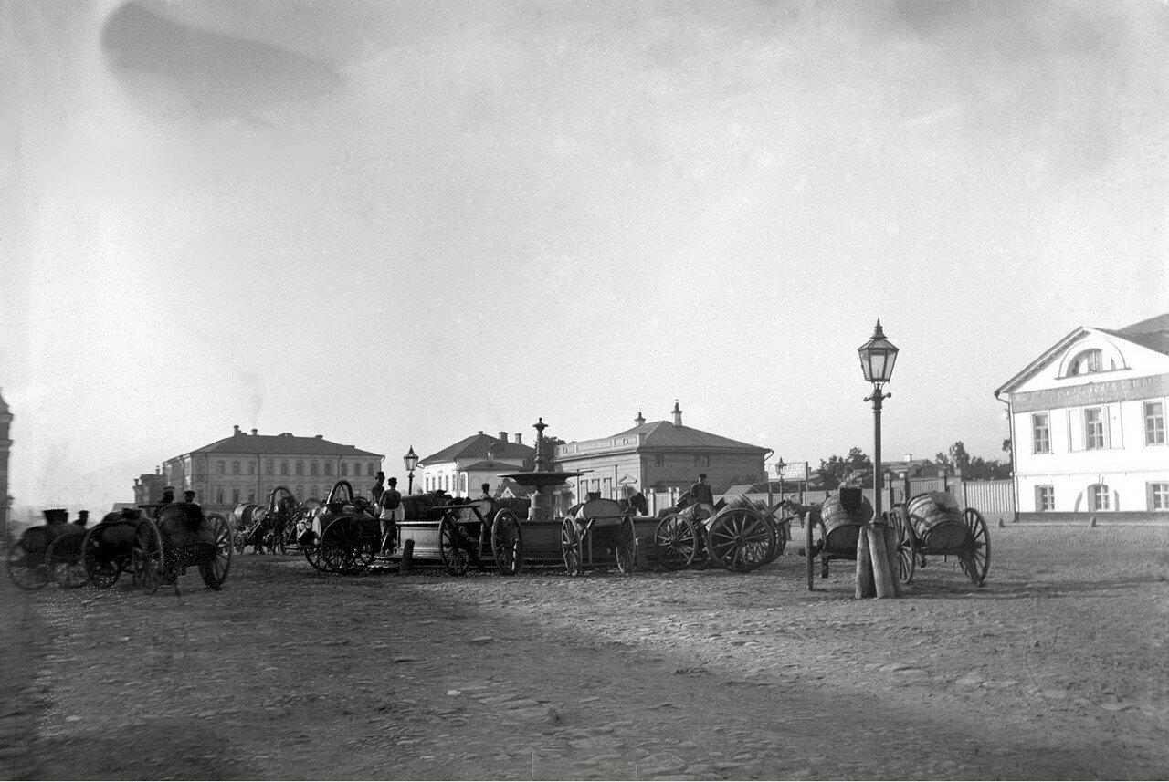 1890-е. Егорьевск. Водовозы