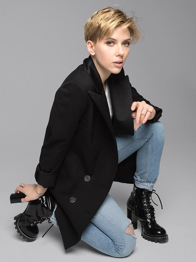 Фотосессия Scarlett Johansson (Playboy Magazine, март-апрель 2017)