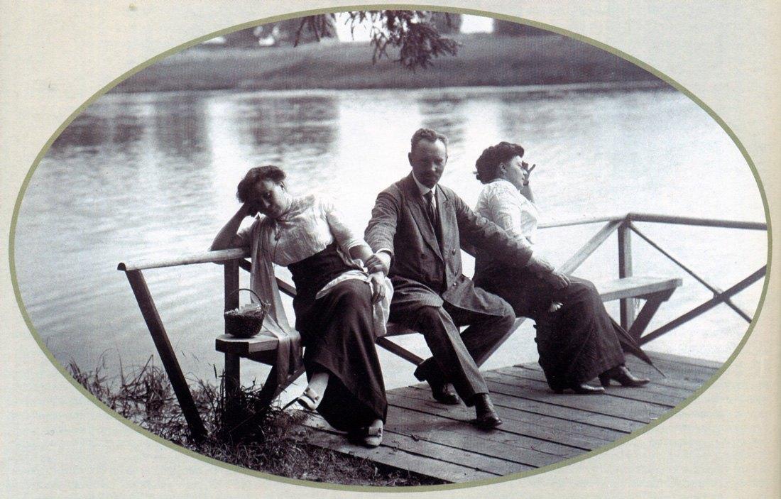 1914. Пристань у Лилейного пруда