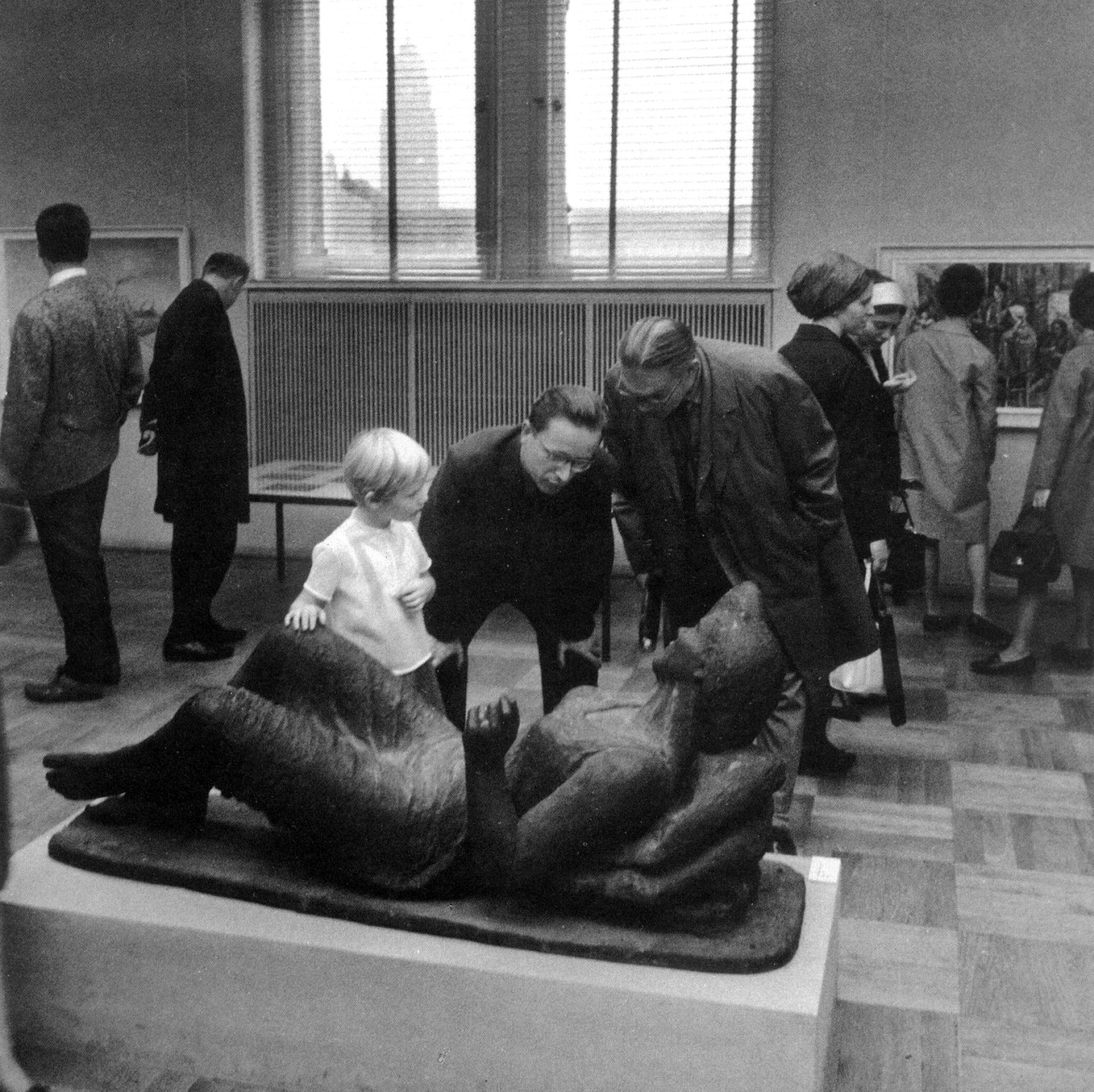 1967. Дрезденская галерея (фрагмент)