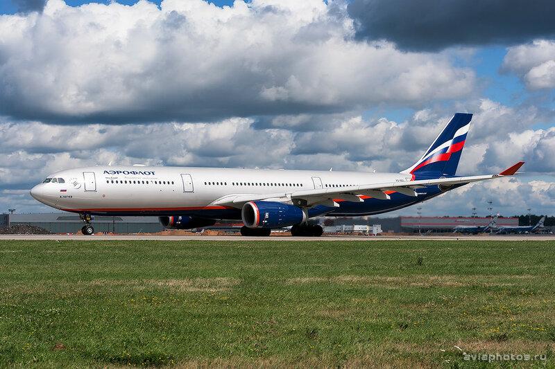 Airbus A330-343 (VQ-BEL) Аэрофлот 0134_D703420