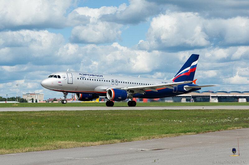 Airbus A320-214 (VP-BKX) Аэрофлот 0457_D703508