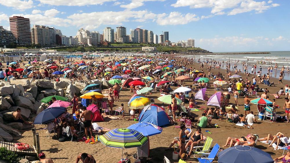 В Аргентине сейчас лето