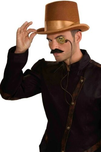 Мужской карнавальный костюм Цилиндр и монокль