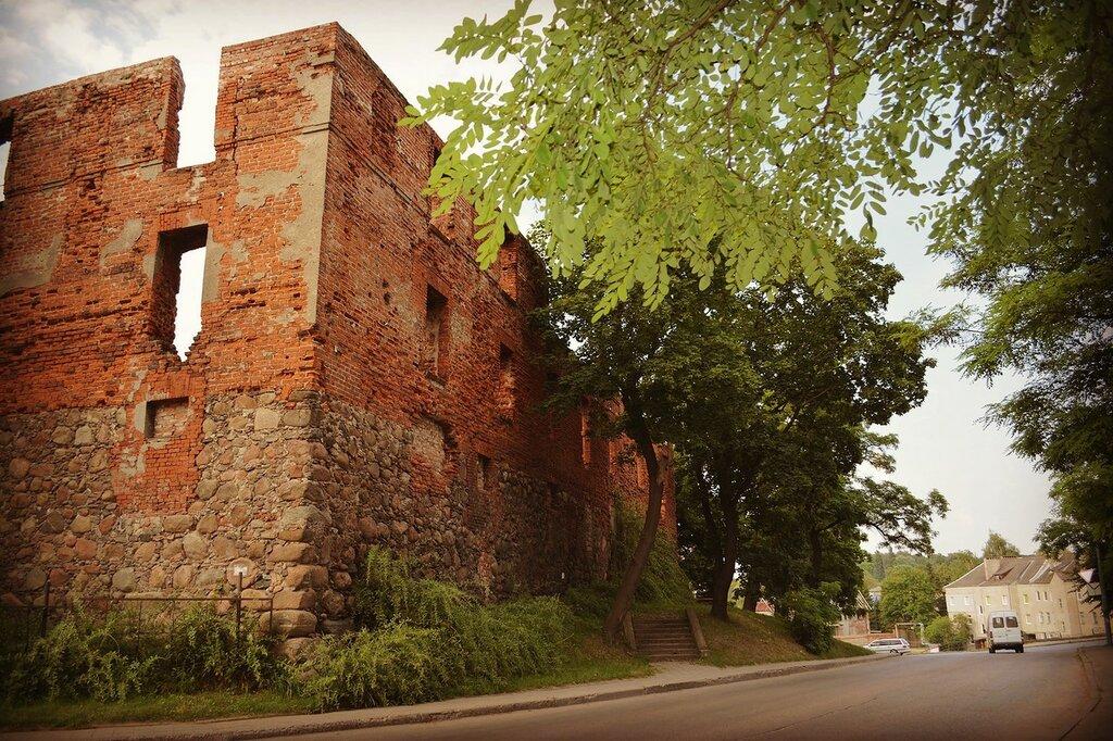 Замок Инстербург в Черняховске.