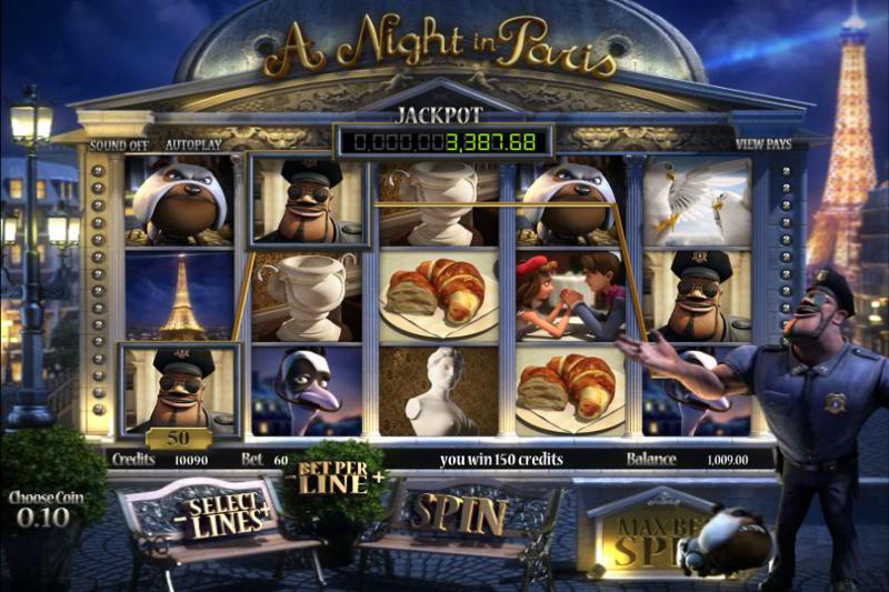 ночь в париже игровой автомат