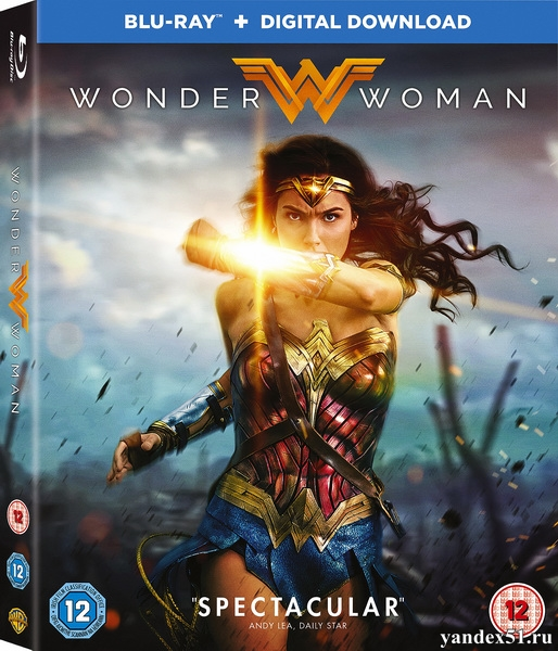 Чудо-женщина / Wonder Woman (2017/BDRip/HDRip) + 3D