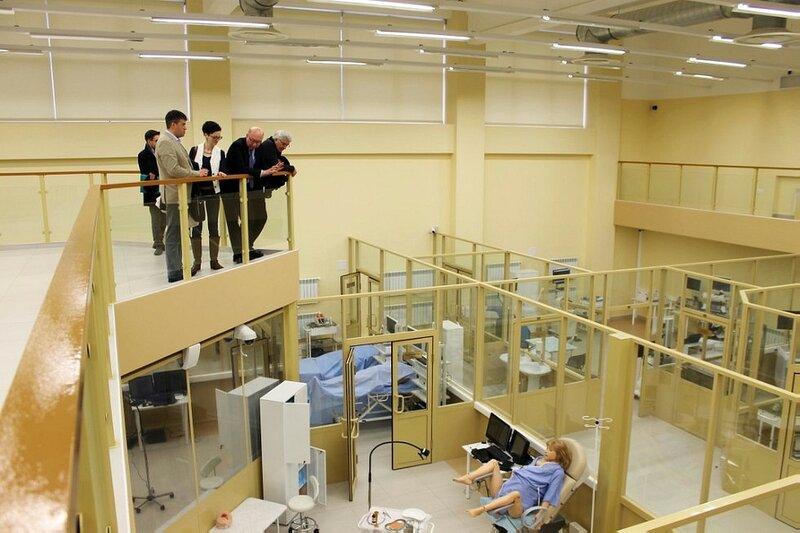 Родовой зал в медицинском кластере КФУ