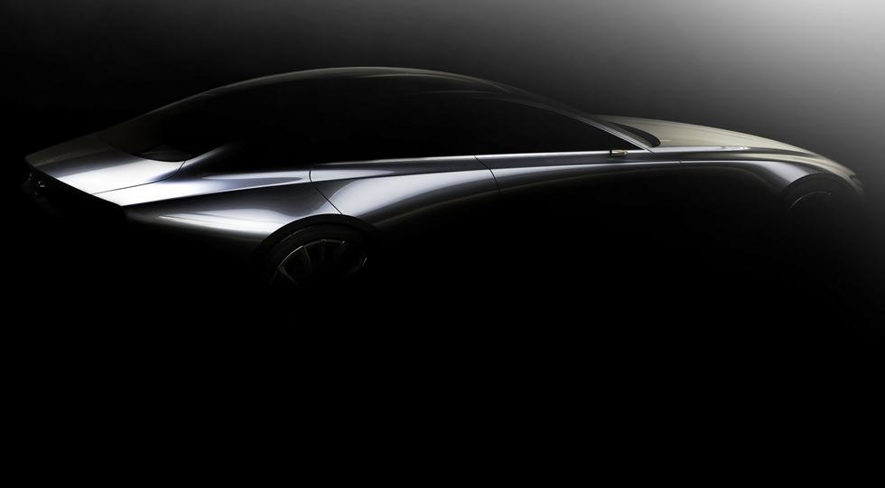 Концепт, демонстрирующий развитие дизайна Mazda   Как отметили в компании, в основе концептуаль