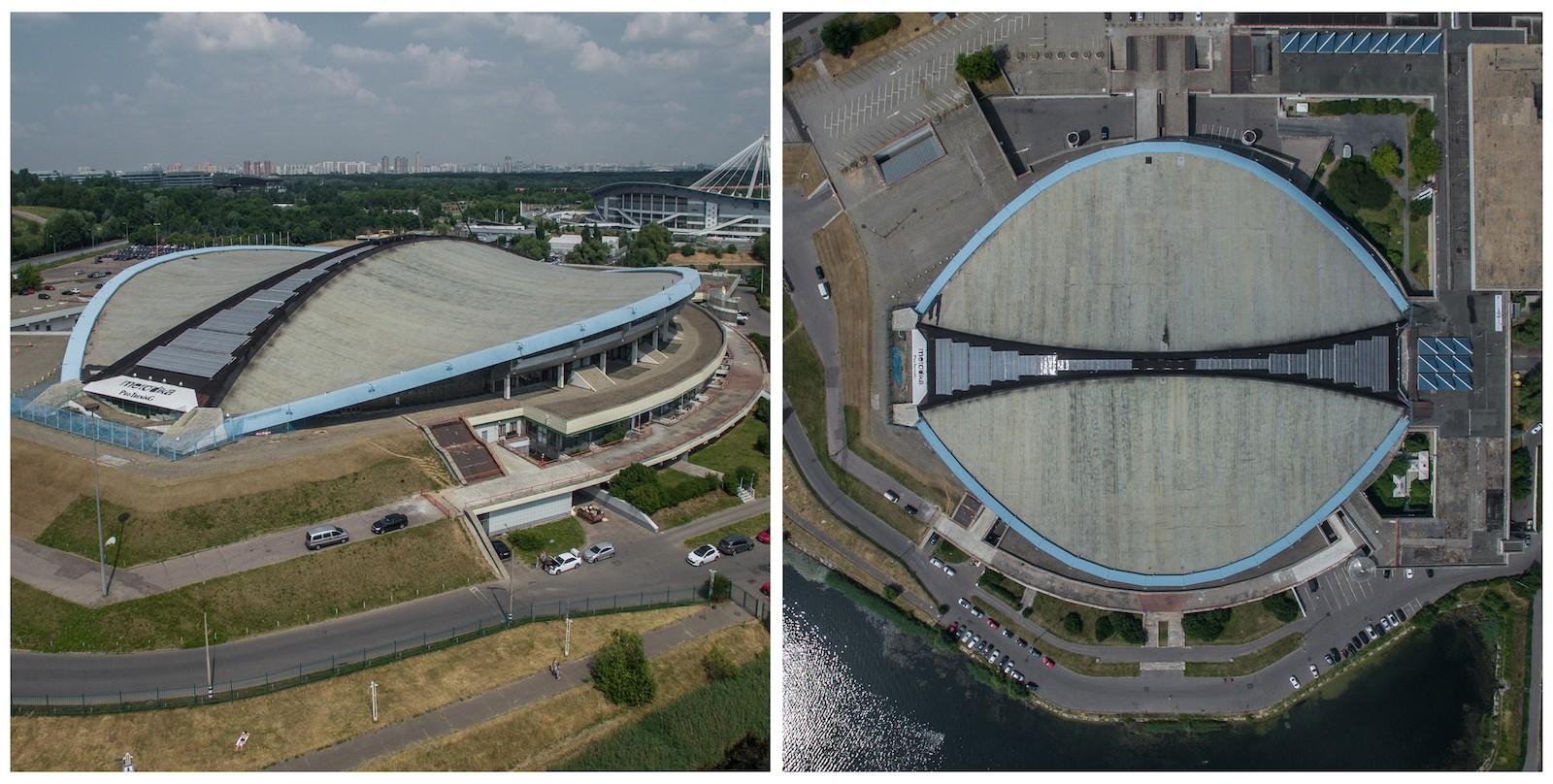 Как и «Дружба», велотрек «Крылатское» был построен к Олимпийским играм 1980 года. Сооружение возводи