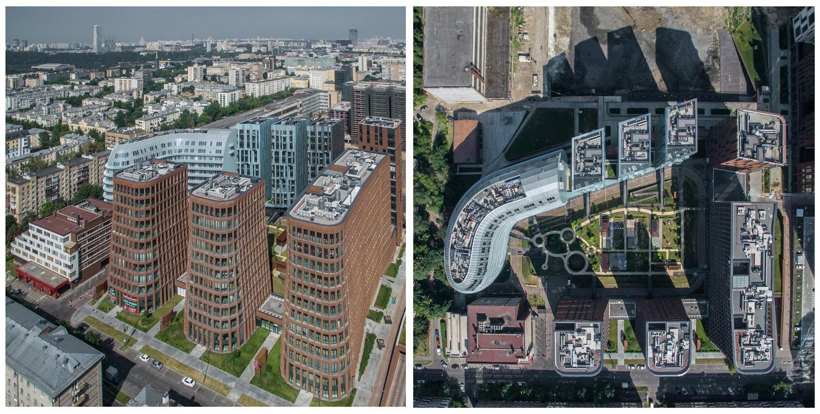 ЖК «Садовые Кварталы» расположился в 3 км от Кремля в самом центре Хамовников. Над проектом трудилис
