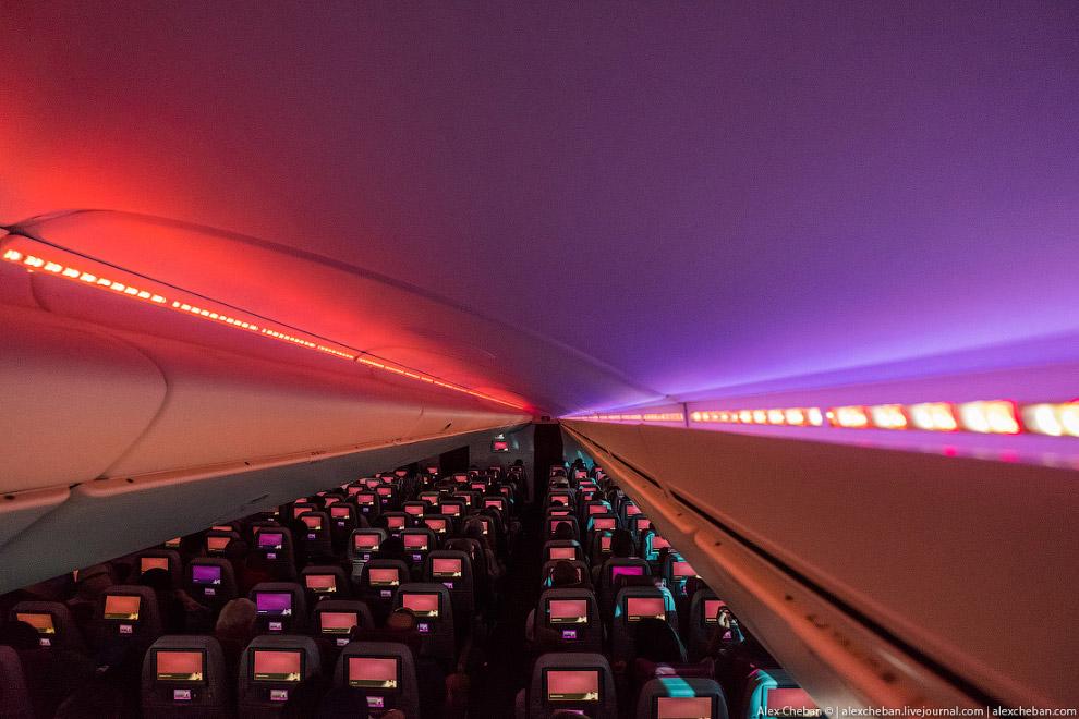15. Система бортовых развлечений у всех ближневосточных авиакомпаний на высоте, не в пример европейс