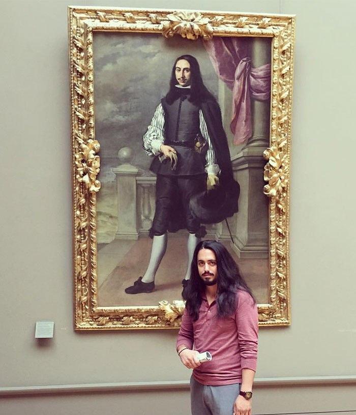 Двойники в музее: гуляешь себе и вдруг видишь свой портрет