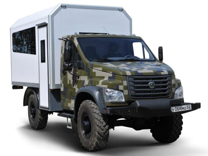 Новый полноприводный грузовик Садко NEXT был разработан еще в 2014 году, но попадет в серию только с
