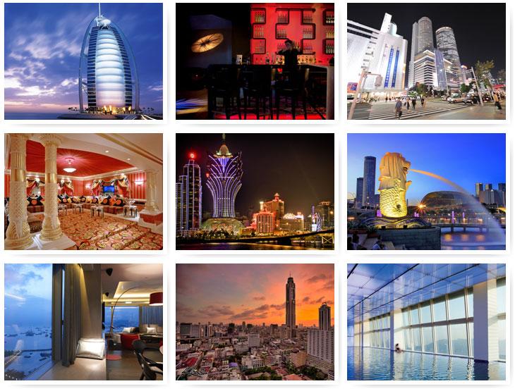 Самые примечательные отели-небоскребы (35 фото)
