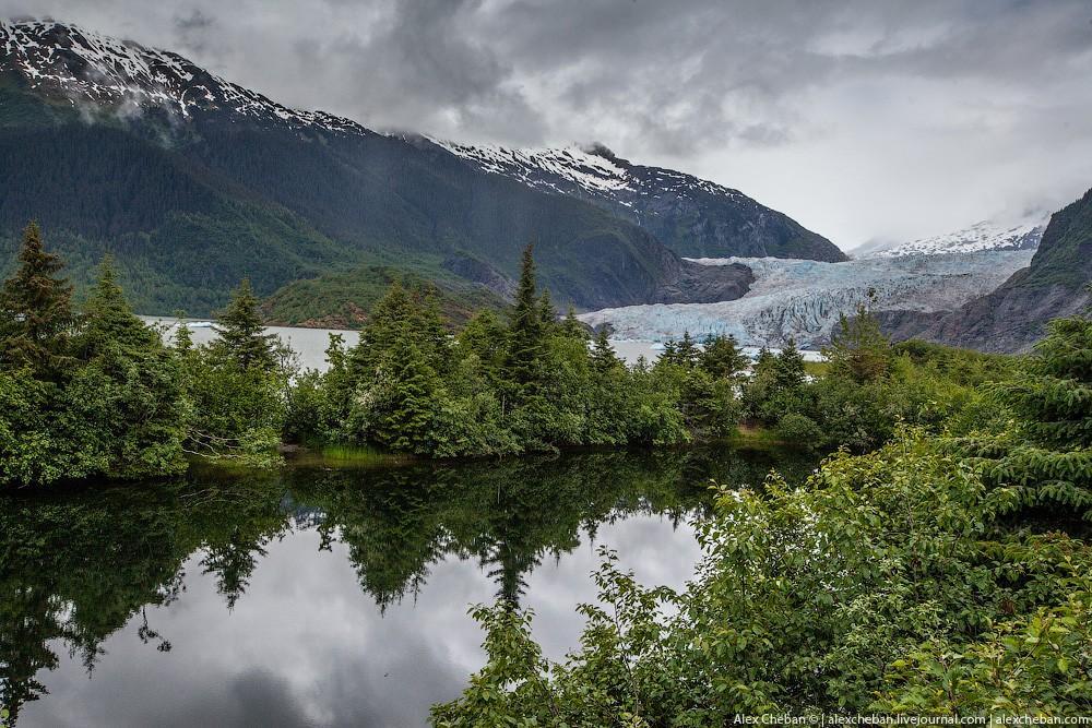 Такая впечатляющая Аляска (54 фото)