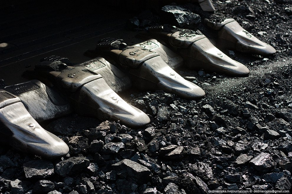карьер Кузбасс познавательно уголь