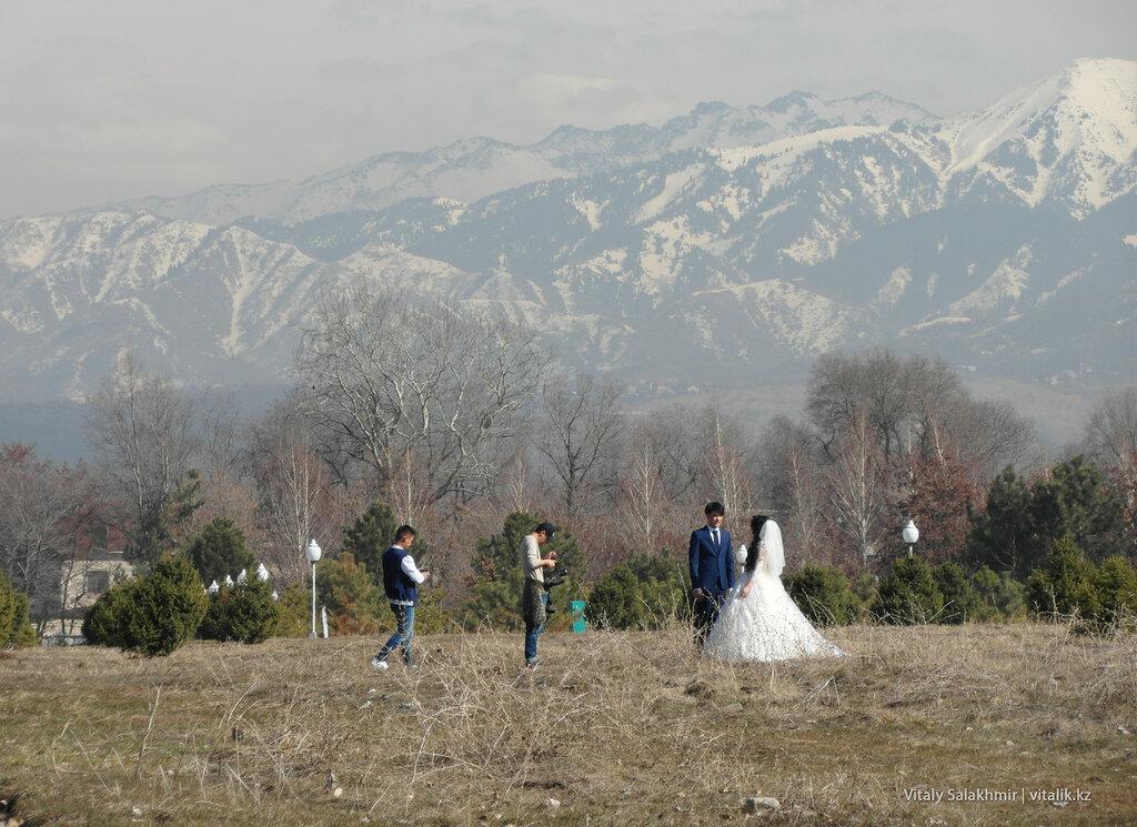 Свадебная фотосессия Парк Первого Президента