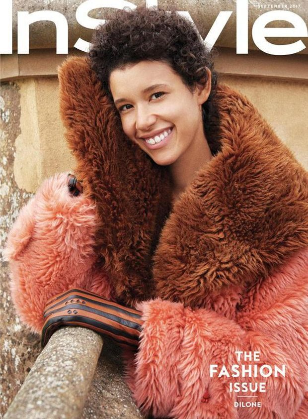 Dilone Stars in American InStyle Magazine September 2017 Issue (26 pics)