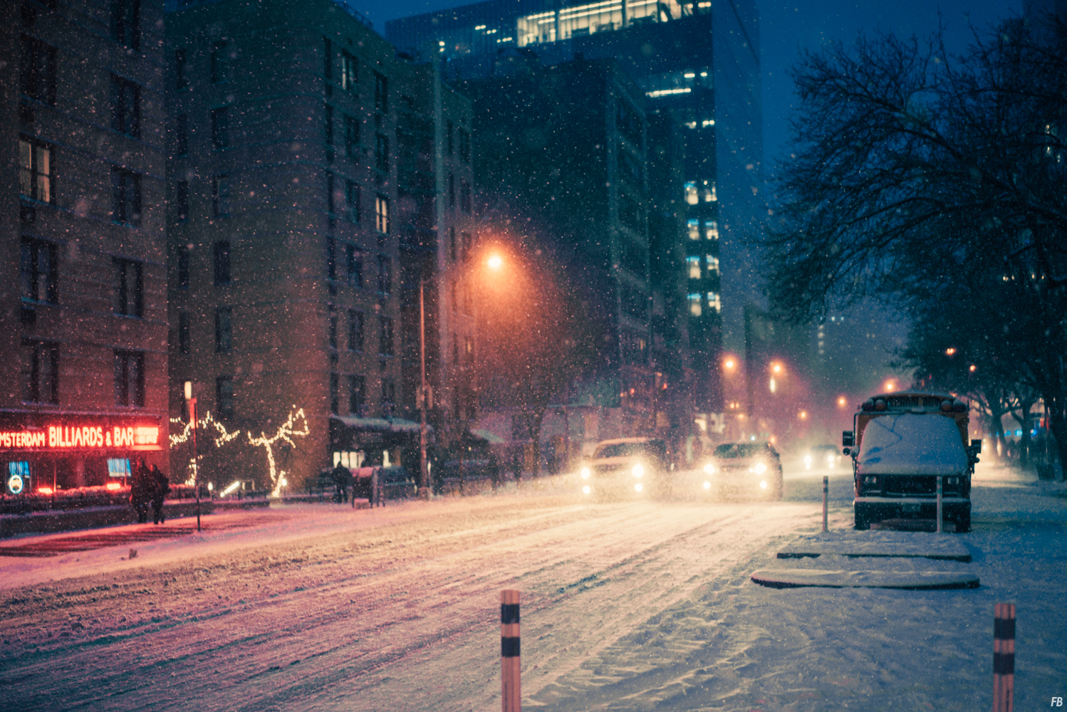 New York in the Snow Photography Series (23 pics)