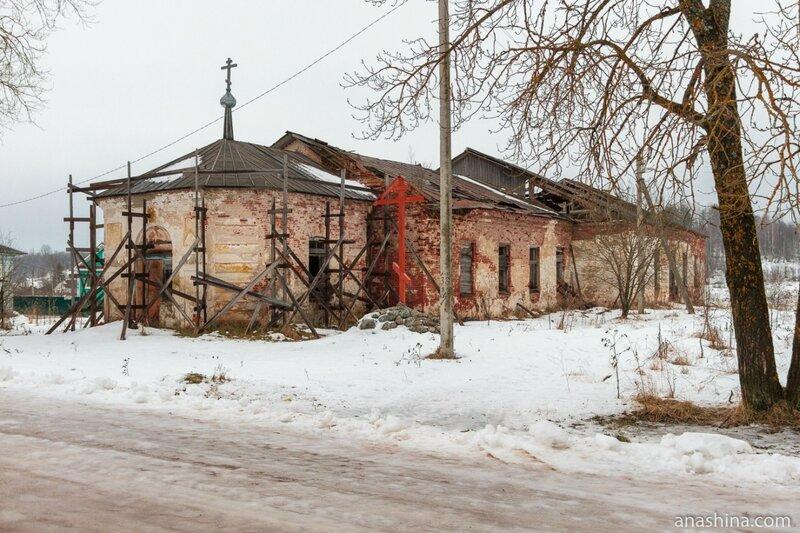 Андомский погост, Троицкая церковь, Вологодская область