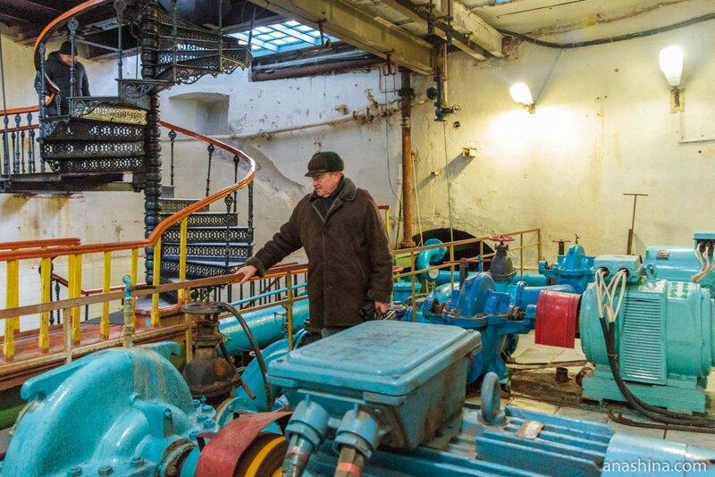 Мытищинский краевед, историк, писатель Дмитрий Николаевич Гурьянов, Мытищинская насосная станция