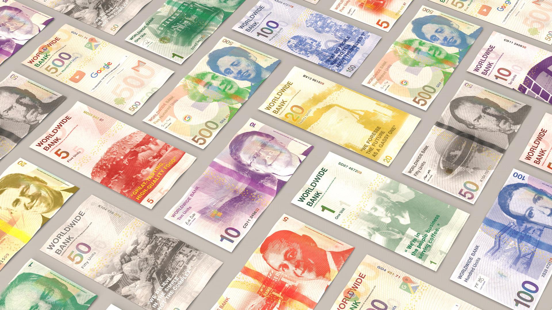 E se as marcas tivessem sua propria moeda? (15 pics)
