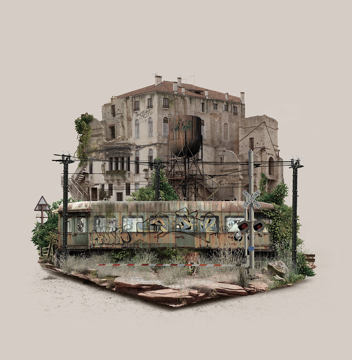 Fantastic Digitally-Manipulated Floating Islands (7 pics)