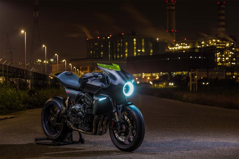 EICMA 2017: Концепт Honda CB4 Interceptor