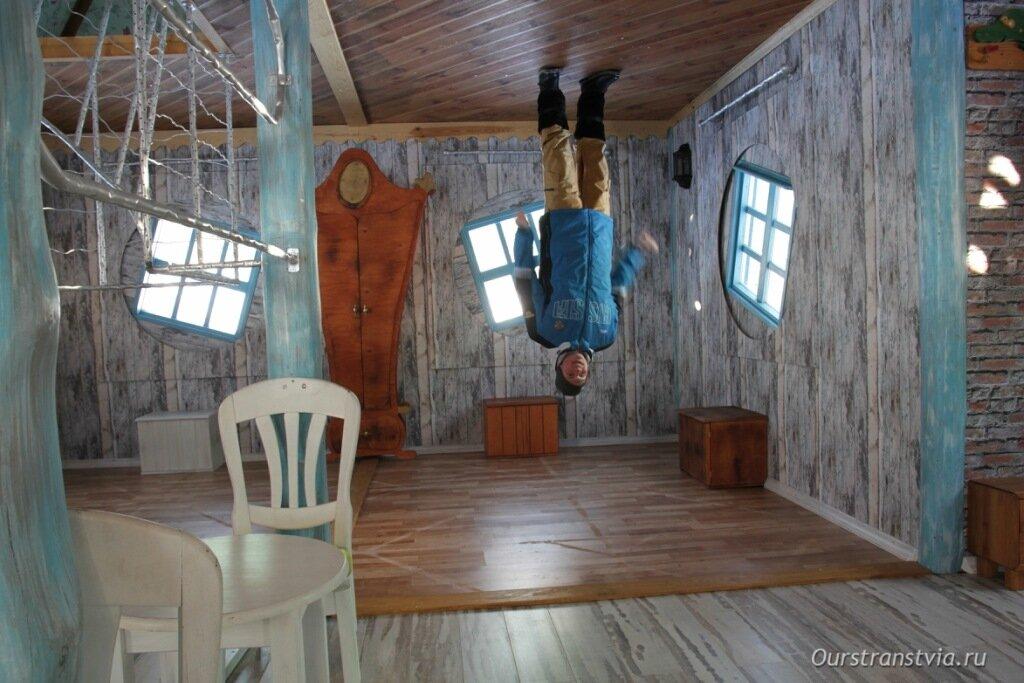 Дом вверх ногами в Бялка Татшаньска