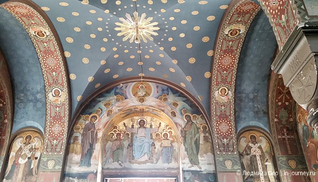 Новоафонский монастырь внутри фото