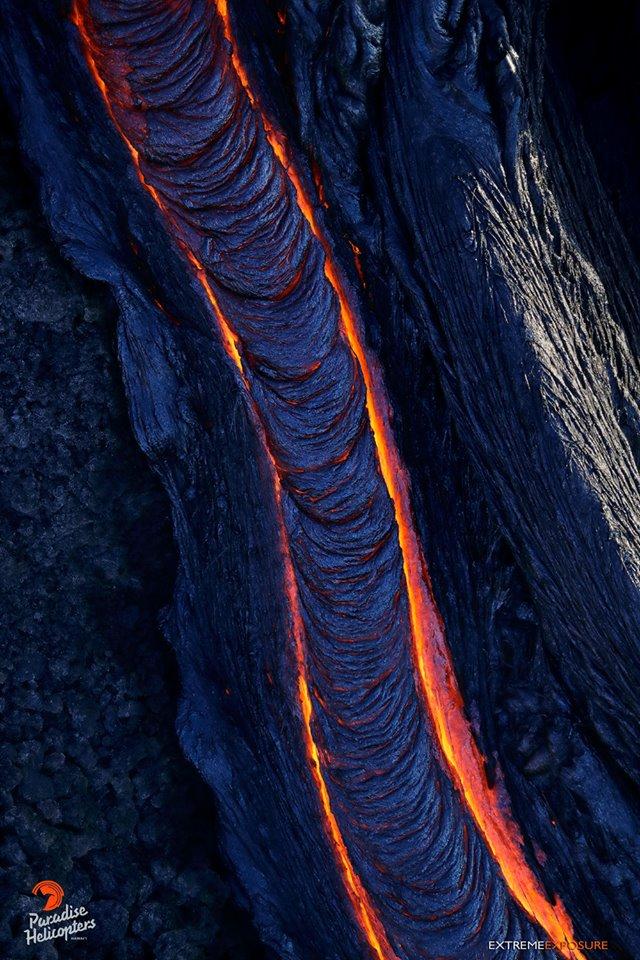 Лава вулкана Килауэа Гавайи 09. 01. 2018 секс вагина пися писька