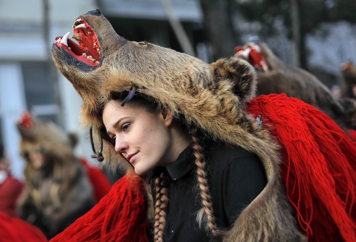 А я зубастая девчонка: Румынская медведица