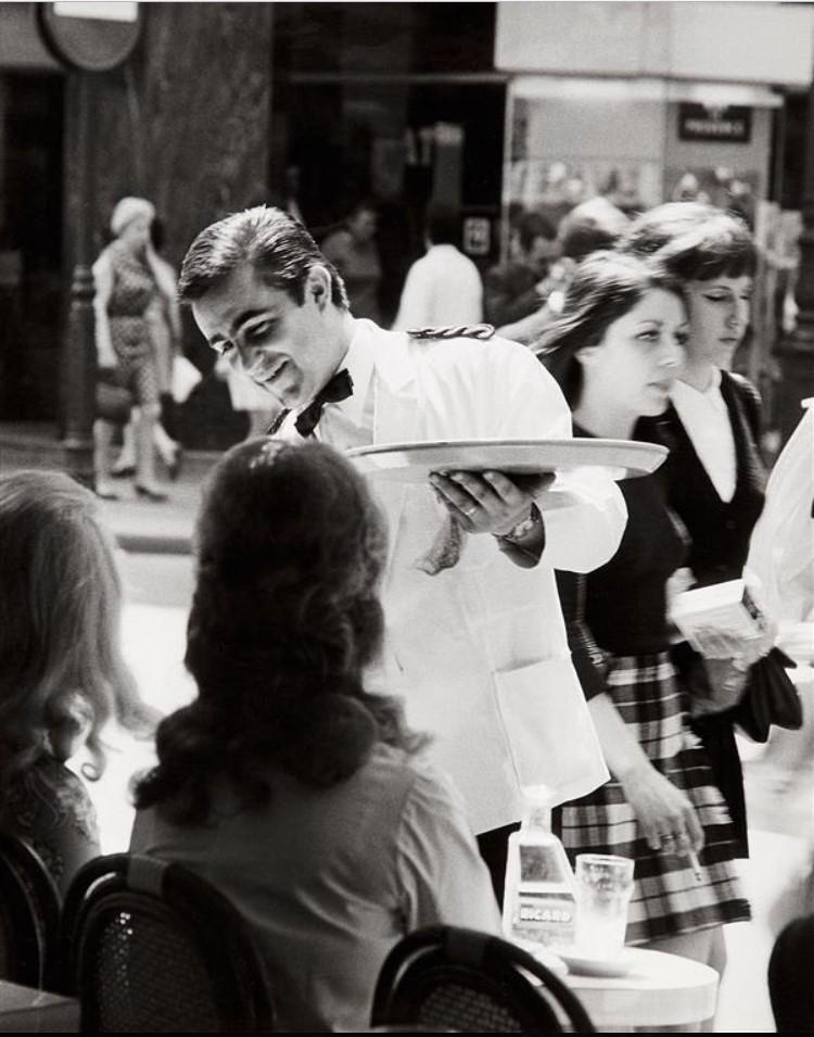 1960. Кафе на рю Шоссе Д Антан