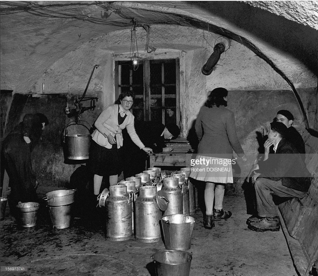 1947. Молоко с фермы в Сен-Веран